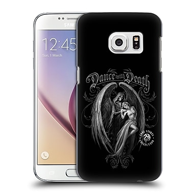 Official Anne Stokes Gothic Dance With Death Hard Back Case For Samsung Galaxy S7