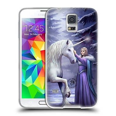 Official Anne Stokes Unicorns 2 Pure Magic Soft Gel Case For Samsung Galaxy S5 / S5 Neo