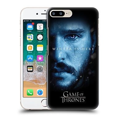 Official HBO Game Of Thrones Winter Is Here Jon Snow Hard Back Case For Apple Iphone 7 Plus / 8 Plus