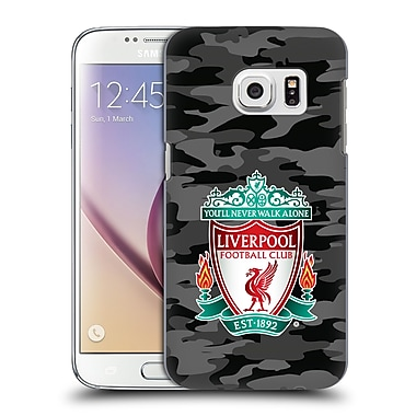 Official Liverpool Football Club Camou Away Colourways Crest Hard Back Case For Samsung Galaxy S7