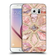 Official Micklyn Le Feuvre Marble Patterns Gilded Stone Tiles Hard Back Case For Samsung Galaxy S6
