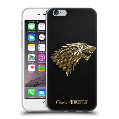 Official HBO Game Of Thrones Sigils Gold Stark Soft Gel Case For Apple Iphone 6 / 6S