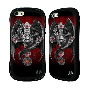 Official Anne Stokes Tribal Gothic Dragon Hybrid Case For Apple Iphone 5 / 5S / Se