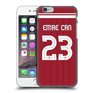 Official Liverpool Football Club Players Home Kit 17/18 Group 1 Emre Can Hard Back Case For Apple Iphone 6 / 6S