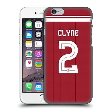 Official Liverpool Football Club Players Home Kit 17/18 Group 1 Nathaniel Clyne Hard Back Case For Apple Iphone 6 / 6S
