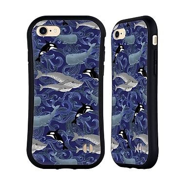 Official Micklyn Le Feuvre Patterns Giants In Purple Hybrid Case For Apple Iphone 7 / 8