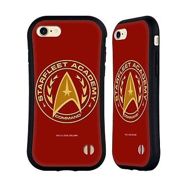 Official Star Trek Starfleet Academy Logos Command Hybrid Case For Apple Iphone 7 / 8