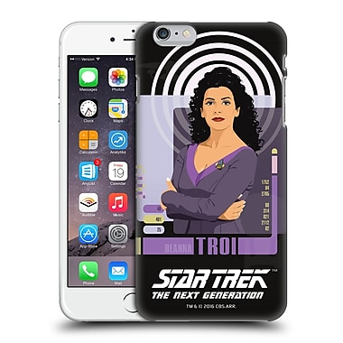 Official Star Trek Iconic Characters Tng Deanna Troi Hard Back Case For Apple Iphone 6 Plus / 6S Plus