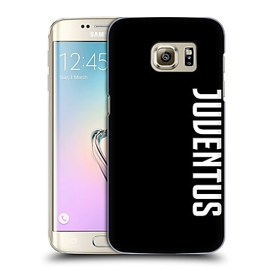 Official Juventus Football Club Lifestyle 2 Logotype Hard Back Case For Samsung Galaxy S7 Edge
