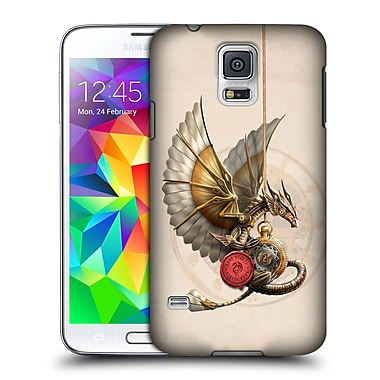 Official Anne Stokes Steampunk Clockword Dragon Hard Back Case For Samsung Galaxy S5 / S5 Neo