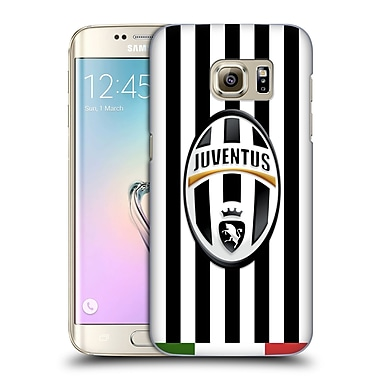 Official Juventus Football Club Crest Italia Stripes Hard Back Case For Samsung Galaxy S7 Edge