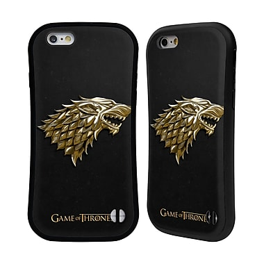 Official HBO Game Of Thrones Sigils Gold Stark Hybrid Case For Apple Iphone 6 / 6S