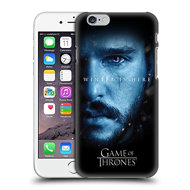 Official HBO Game Of Thrones Winter Is Here Jon Snow Hard Back Case For Apple Iphone 6 / 6S