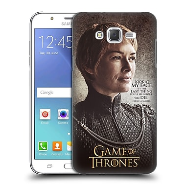 Official HBO Game Of Thrones Character Quotes Cersei Lannister Hard Back Case For Samsung Galaxy J7