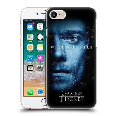 Official HBO Game Of Thrones Winter Is Here Theon Greyjoy Hard Back Case For Apple Iphone 7 / 8