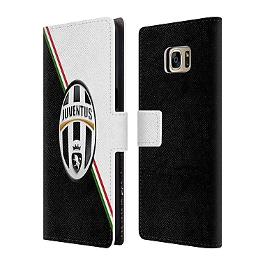 Official Juventus Football Club Crest Italia Leather Book Wallet Case Cover For Samsung Galaxy S7 Edge