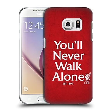 Official Liverpool Football Club Never Walk Alone Red 1 Hard Back Case For Samsung Galaxy S7