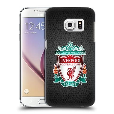 Official Liverpool Football Club Crest 2 Black Pixel 1 Hard Back Case For Samsung Galaxy S7