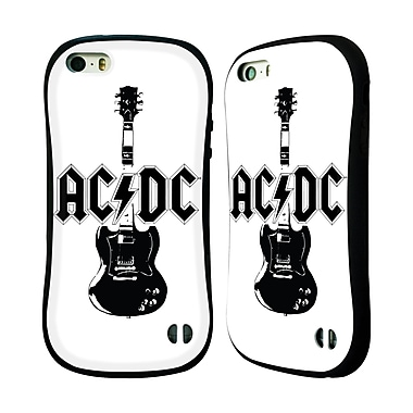 Official AC/DC Acdc Iconic Lead Guitar Hybrid Case For Apple Iphone 5 / 5S / Se