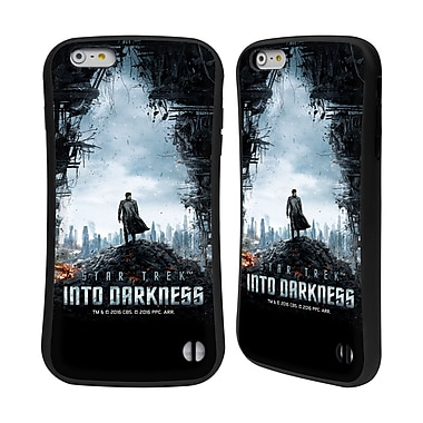 Official Star Trek Posters Into Darkness Xii Khan City Ruins Hybrid Case For Apple Iphone 6 Plus / 6S Plus