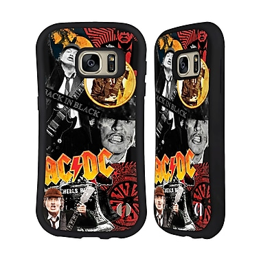 Official AC/DC Acdc Collage Angus Young Hybrid Case For Samsung Galaxy S7