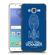 Official Star Trek Ships Of The Line Voy Uss Voyager Hard Back Case For Samsung Galaxy J7