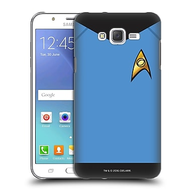 Official Star Trek Uniforms And Badges Tos Sciences Hard Back Case For Samsung Galaxy J7