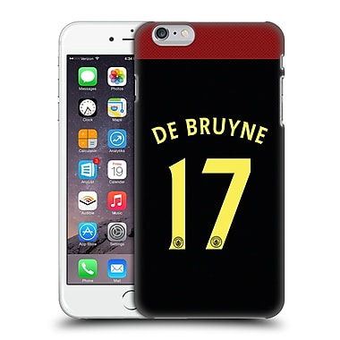 Official Manchester City Man City Fc Away Kit 2016/17 1 De Bruyne Hard Back Case For Apple Iphone 6 Plus / 6S Plus