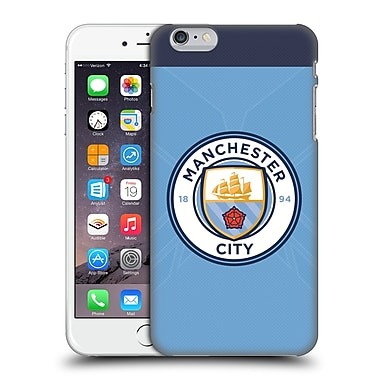 Official Manchester City Man City Fc Badge Kit 2016/17 Home Hard Back Case For Apple Iphone 6 Plus / 6S Plus