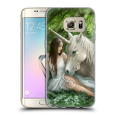Official Anne Stokes Mythical Creatures Pure Heart Soft Gel Case For Samsung Galaxy S7 Edge