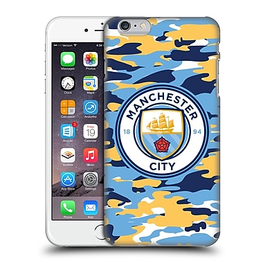 Official Manchester City Man City Fc Badge Camou Club Hard Back Case For Apple Iphone 6 Plus / 6S Plus