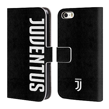 Official Juventus Football Club Lifestyle 2 Logotype Leather Book Wallet Case Cover For Apple Iphone 5 / 5S / Se