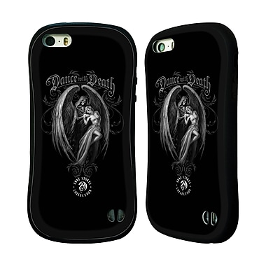 Official Anne Stokes Gothic Dance With Death Hybrid Case For Apple Iphone 5 / 5S / Se