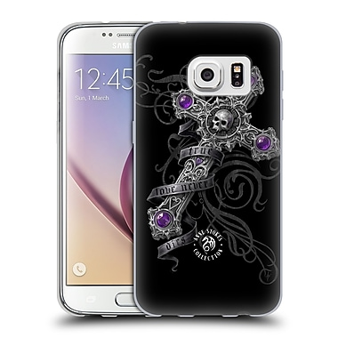Official Anne Stokes Dark Hearts Lost Love Cross Soft Gel Case For Samsung Galaxy S7