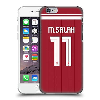 Official Liverpool Football Club Players Home Kit 17/18 Group 1 Mohamed Salah Hard Back Case For Apple Iphone 6 / 6S