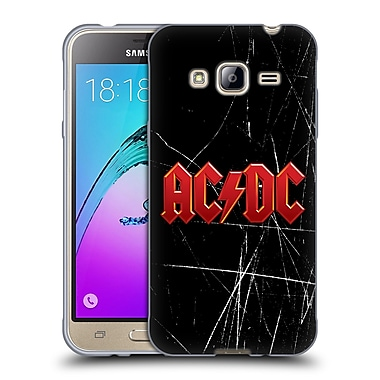 Official AC/DC Acdc Logo Red Soft Gel Case For Samsung Galaxy J3