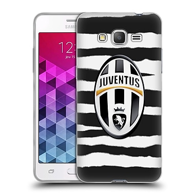 Official Juventus Football Club Lifestyle Zebra Stripes Soft Gel Case For Samsung Galaxy Grand Prime