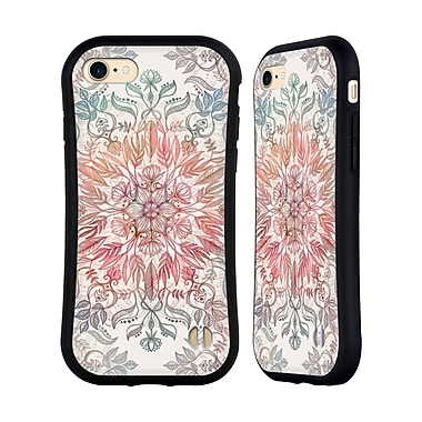 Official Micklyn Le Feuvre Mandala Autumn Spice Hybrid Case For Apple Iphone 7 / 8