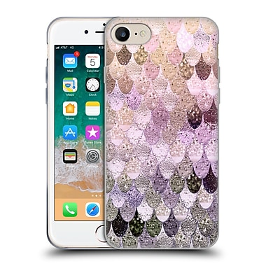 Official Monika Strigel Happy Mermaid Pastel Rose Soft Gel Case For Apple Iphone 7 / 8