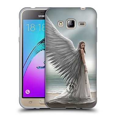 Official Anne Stokes Angels Spirit Guide Soft Gel Case For Samsung Galaxy J3