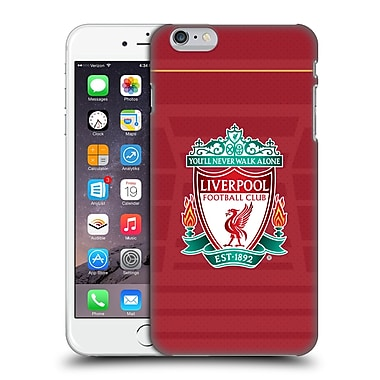 Official Liverpool Football Club Kit 2016/17 Crest Home Shirt Hard Back Case For Apple Iphone 6 Plus / 6S Plus