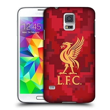 Official Liverpool Football Club Digital Camouflage Home Red Hard Back Case For Samsung Galaxy S5 / S5 Neo