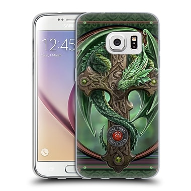 Official Anne Stokes Dragons Woodland Guardian Soft Gel Case For Samsung Galaxy S7