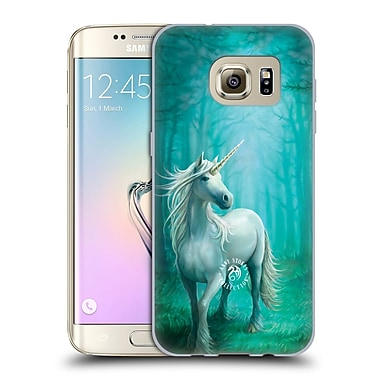 Official Anne Stokes Mythical Creatures Forest Unicorn Soft Gel Case For Samsung Galaxy S7 Edge