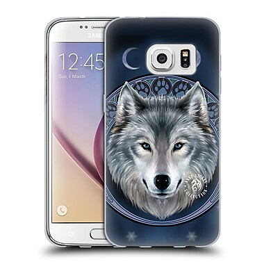 Official Anne Stokes Wolves Lunar Soft Gel Case For Samsung Galaxy S7