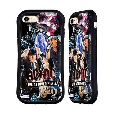 Official AC/DC Acdc Collage Concert Hybrid Case For Apple Iphone 7 / 8