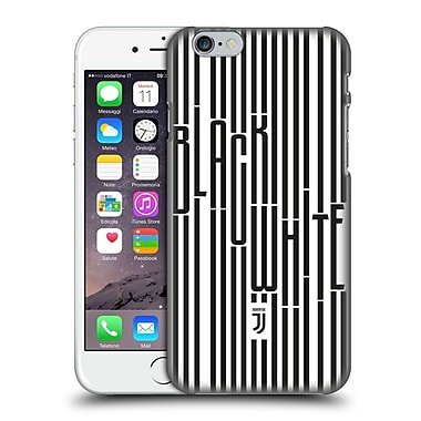 Official Juventus Football Club Black & White Stripes Hard Back Case For Apple Iphone 6 / 6S