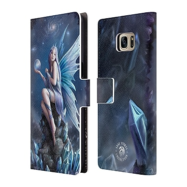 Official Anne Stokes Fairies Stargazer Leather Book Wallet Case Cover For Samsung Galaxy S7 Edge
