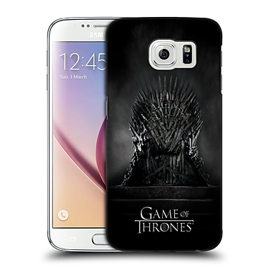 Official HBO Game Of Thrones Key Art Iron Throne Hard Back Case For Samsung Galaxy S6
