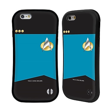 Official Star Trek Uniforms And Badges Tng Commander Hybrid Case For Apple Iphone 6 / 6S